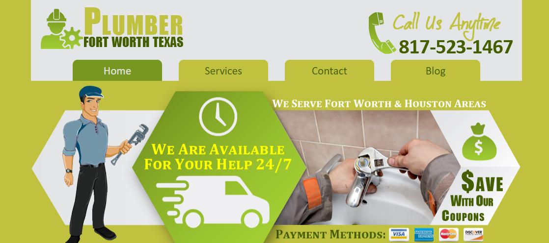 Plumber Fort Worth Texas