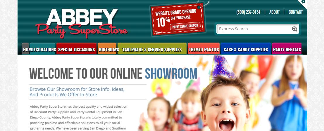 Abbey Party Super Store