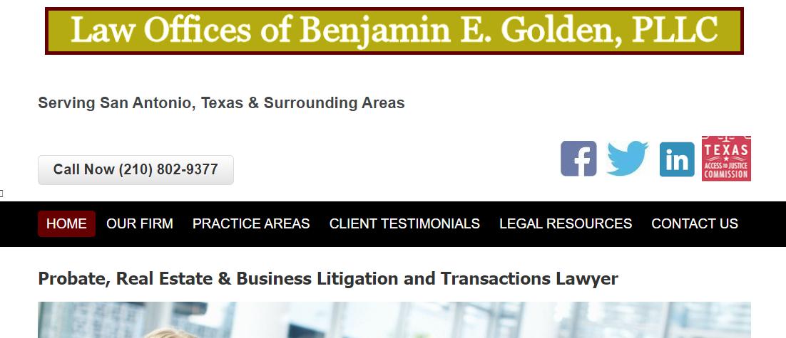 Benjamin E. Golden, PLLC