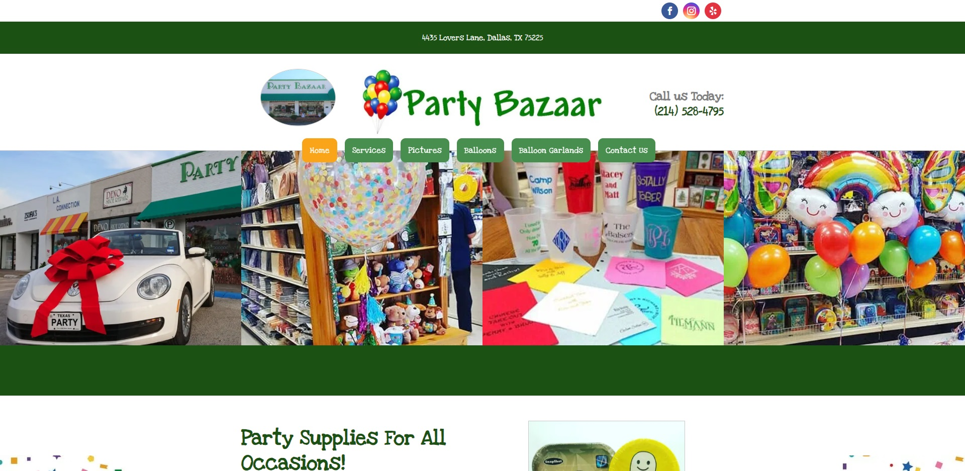 The Best Party Supplies in Dallas