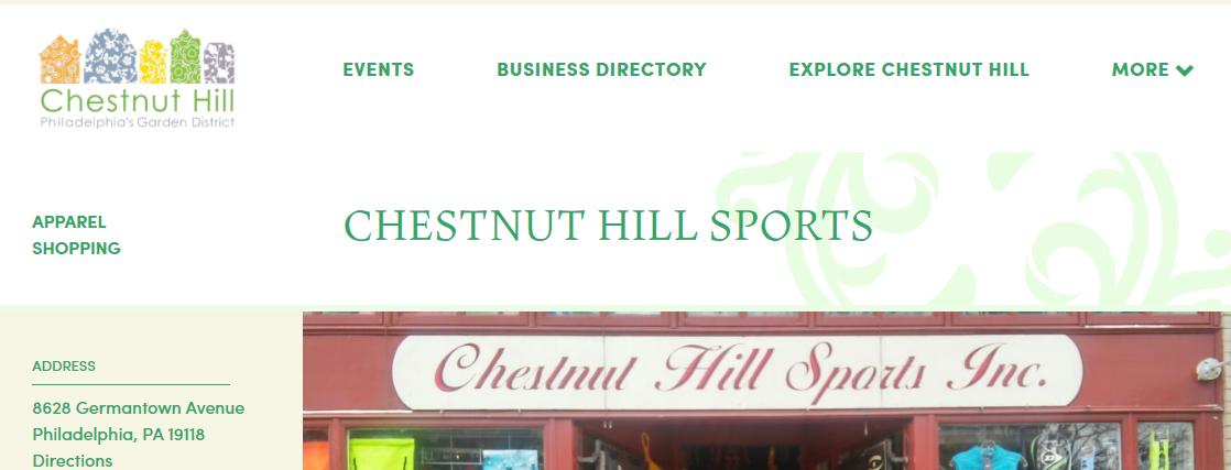 Chestnut Hill Sports