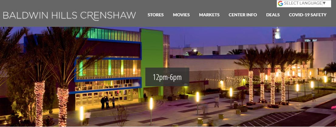 Baldwin Hills Crenshaw Plaza