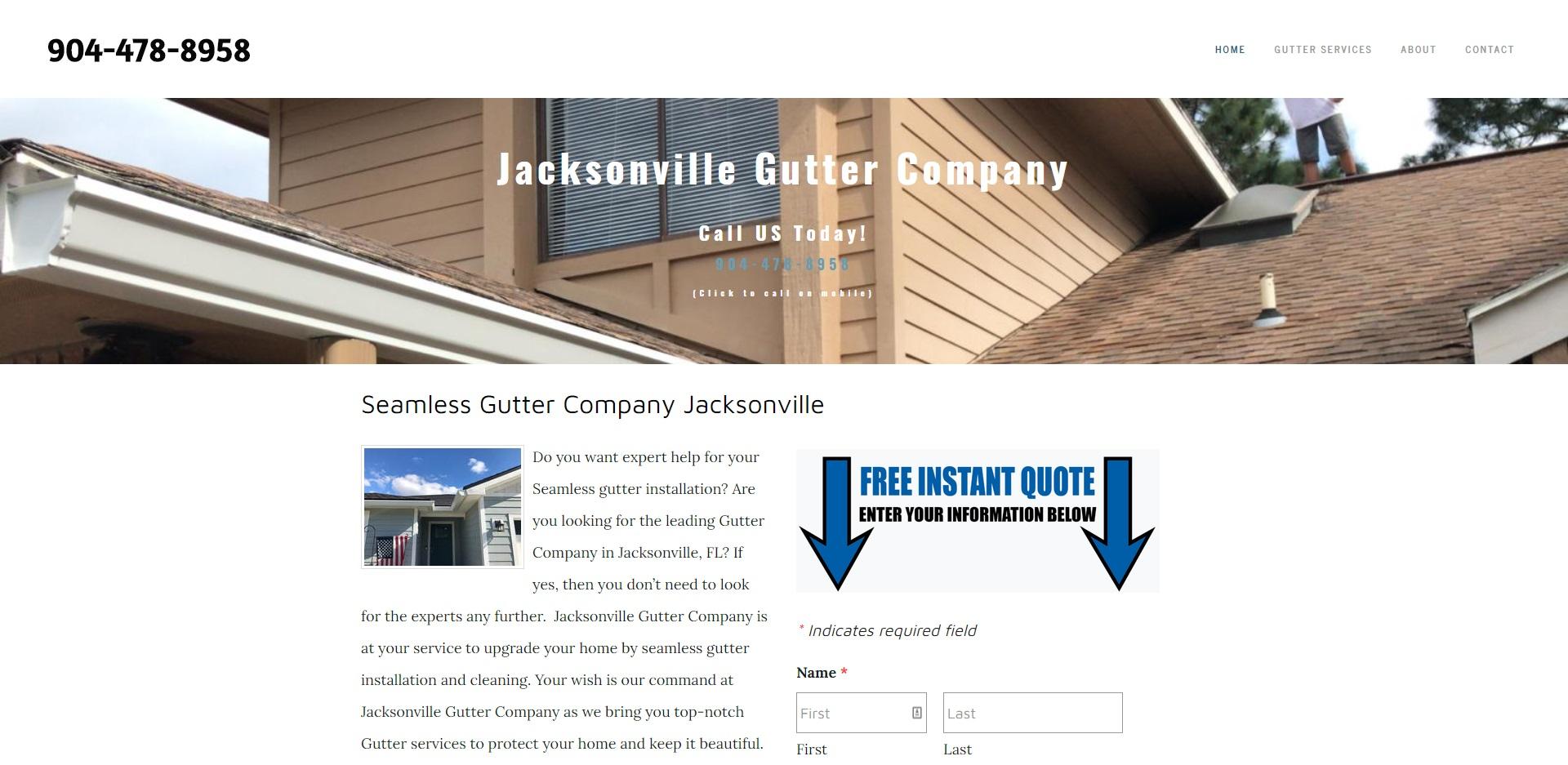 5 Best Gutter Installers in Jacksonville