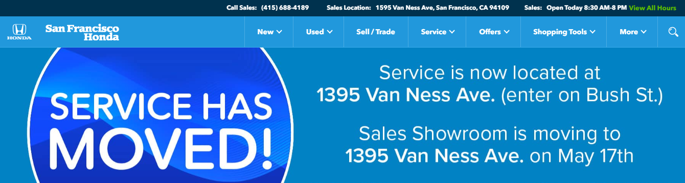 new and pre-owned vehicles in San Francisco, CA