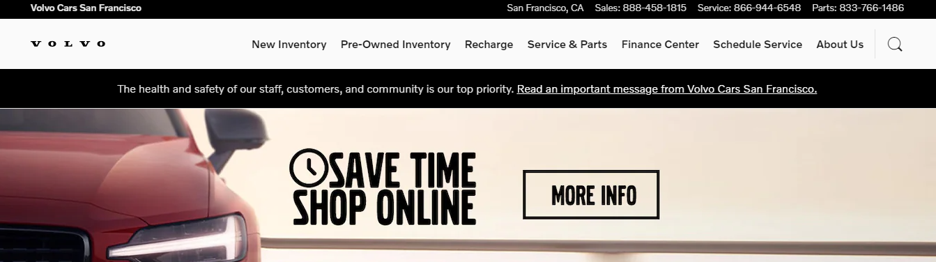 new and pre-owned Volvo vehicles in San Francisco, CA