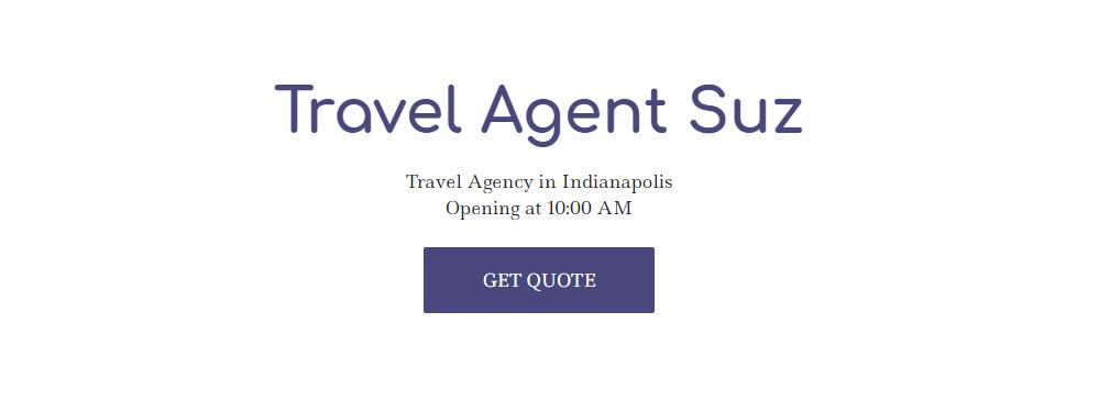travel agent suz
