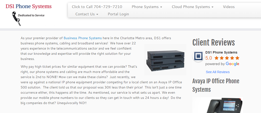 DS1 Phone Systems