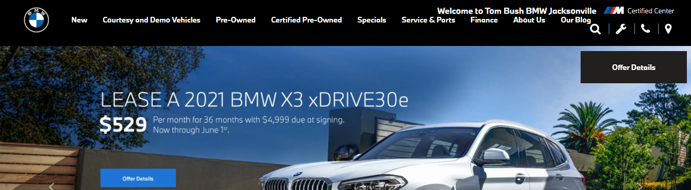 premium BMW dealership in Jacksonville, FL