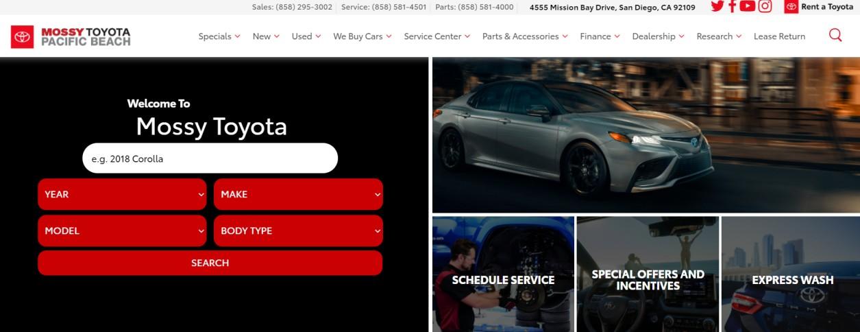 Best Toyota Dealers in San Diego