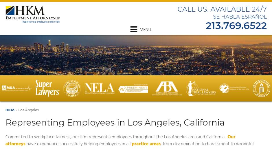 5 Best Employment Attorneys In Los Angeles Ca
