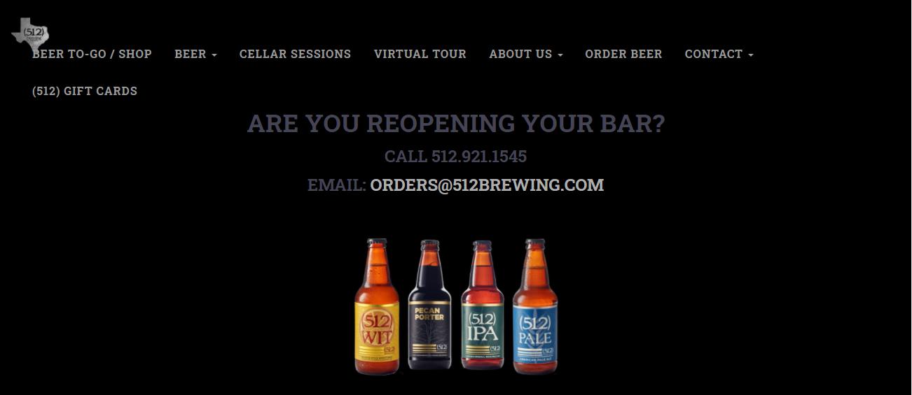 (512) Brewing Company in Austin, TX