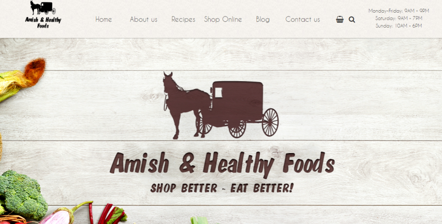 Amish & Healthy Foods in Chicago, IL