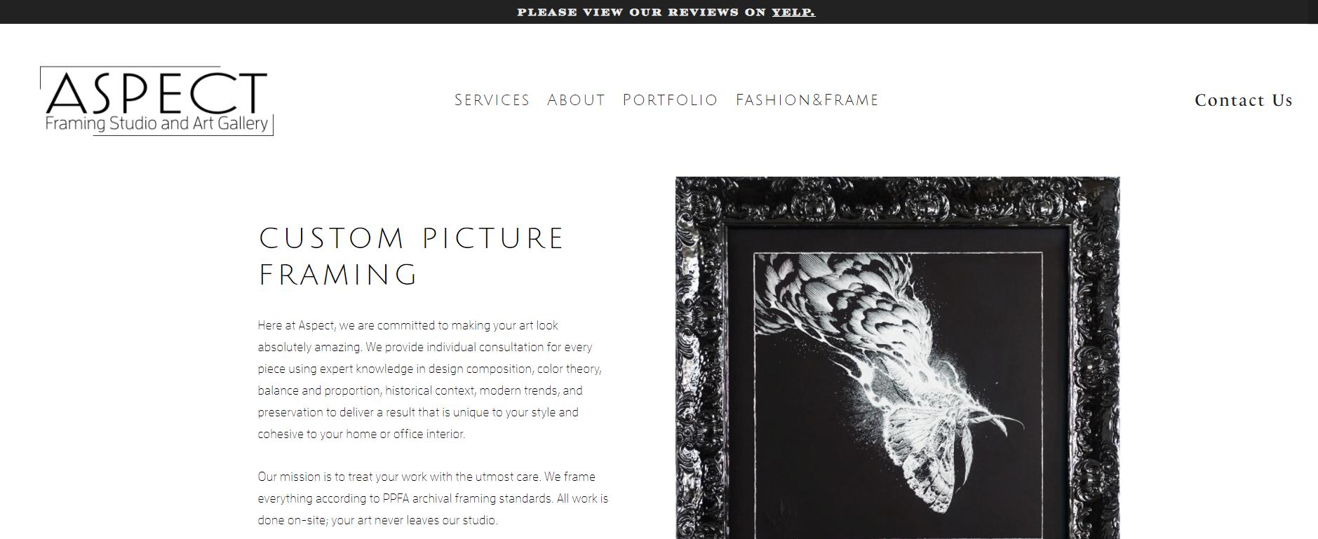 Aspect Framing Studio and Art Gallery