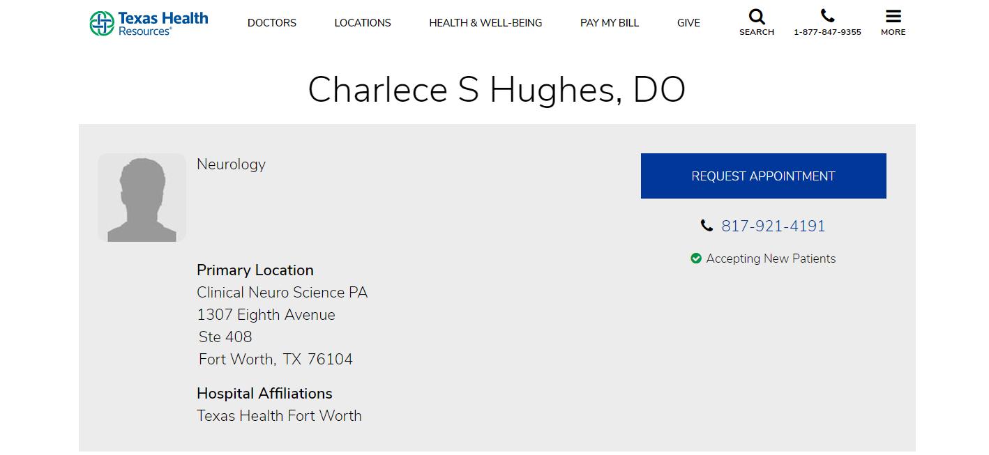 Charlece S Hughes, DO