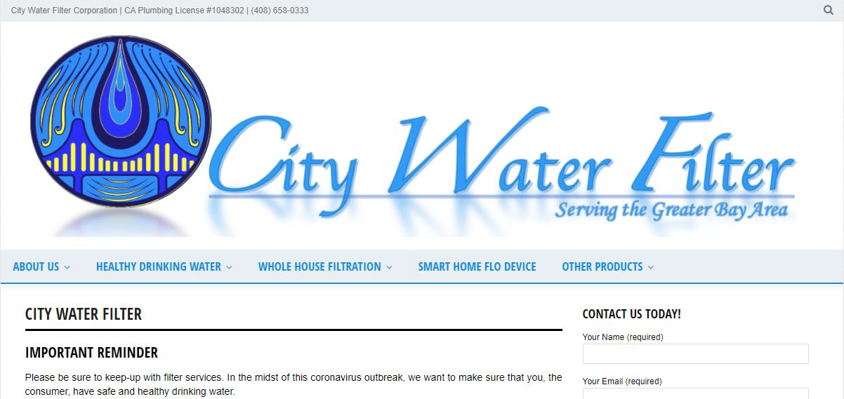 City Water Filter in San Jose, CA
