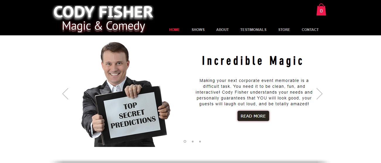 Cody Fisher Magic & Comedy in Austin, TX