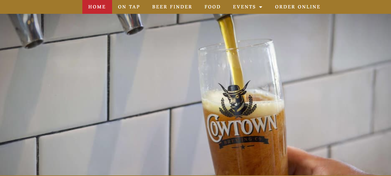 Cowtown Brewing in Fort Worth, TX