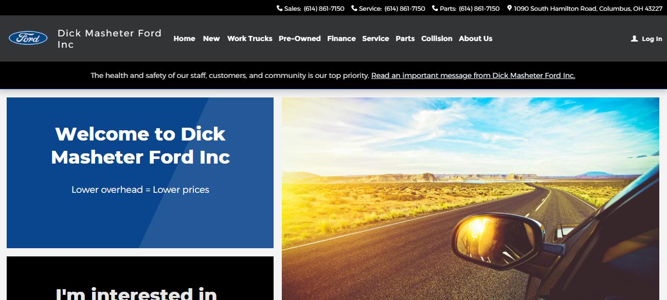 Dick Masheter Ford Inc in Columbus, OH