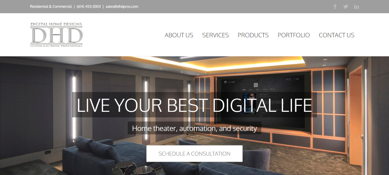 Digital Home Designs in Columbus, OH