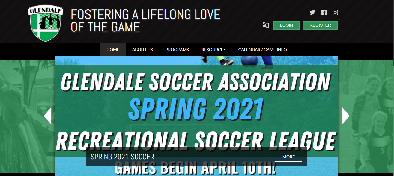 Glendale Soccer Association in Indianapolis, IN
