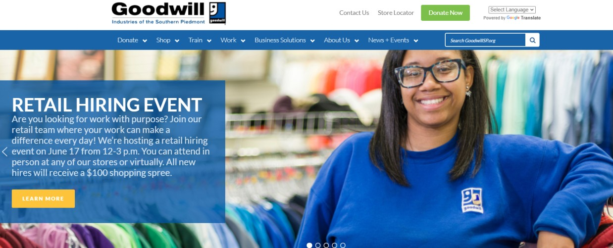 Goodwill Industries Outlet Store