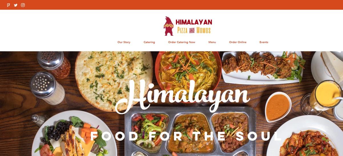 Himalayan Pizza and Momos