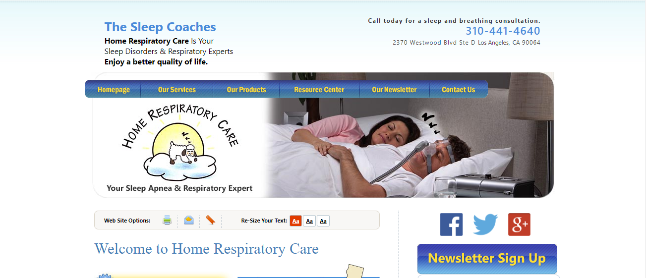 Home Respiratory Care in Los Angeles, CA