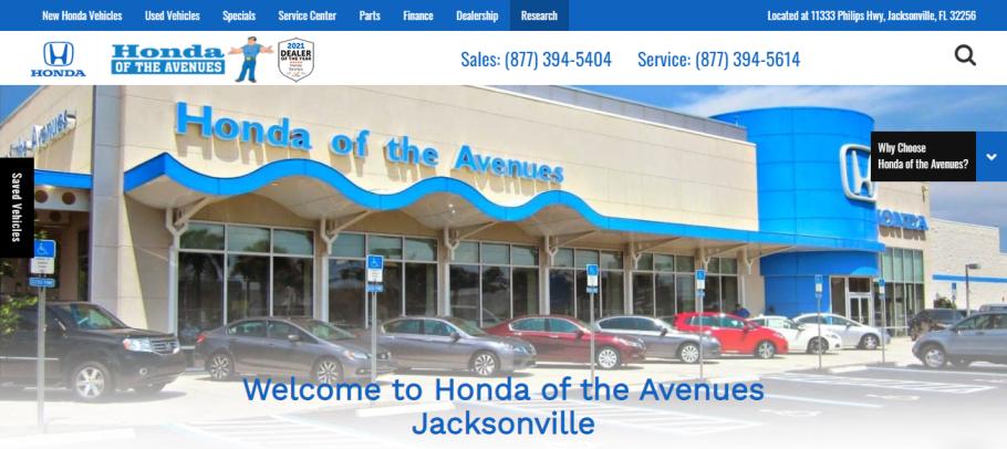 Honda of the Avenues in Jacksonville, FL