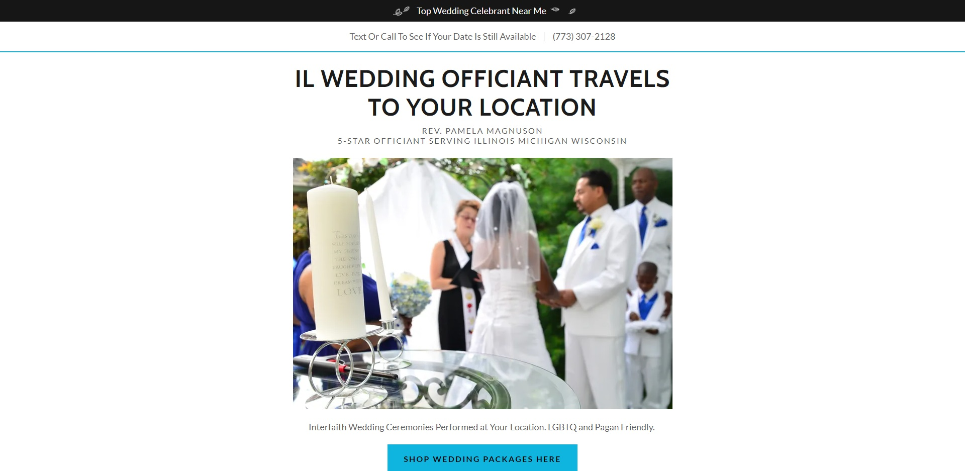 The Best Marriage Celebrants in Chicago