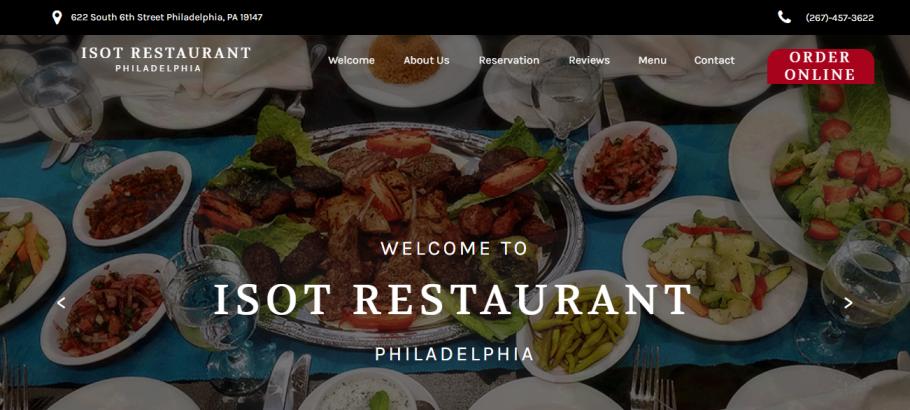 Isot Restaurant in Philadelphia, PA