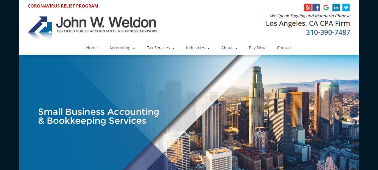 John W. Weldon CPA in Los Angeles, CA
