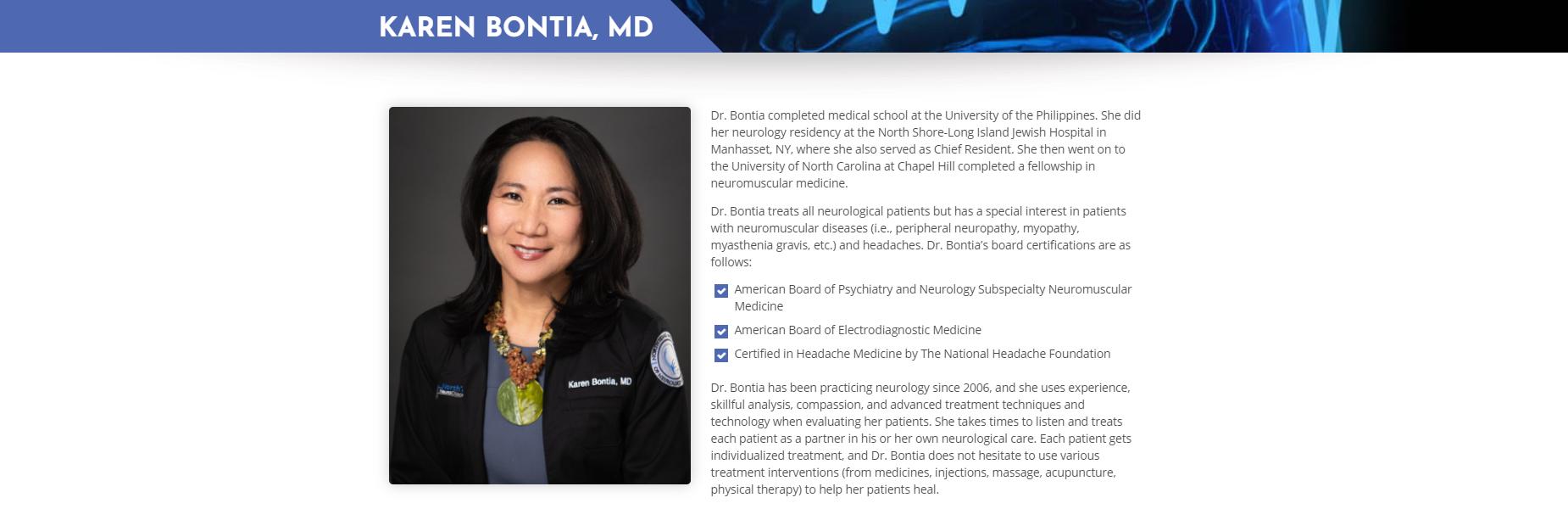 Karen Bontia, MD
