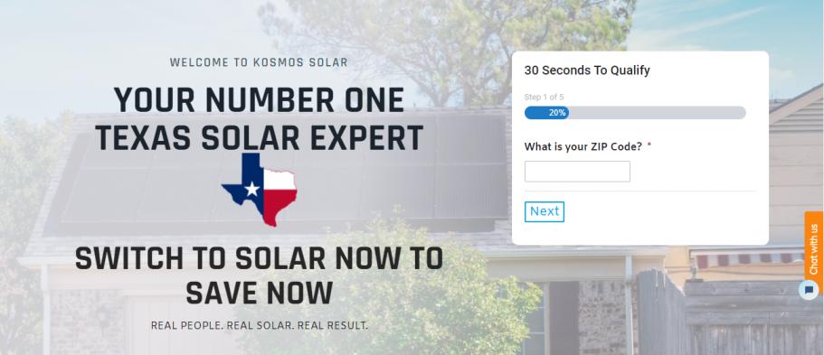 Kosmos Solar in Fort Worth, TX