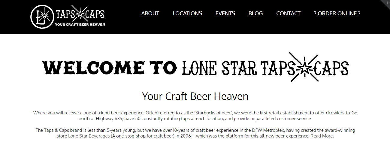 Lone Star Taps & Caps in Fort Worth, TX