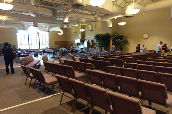 Meeting Hall Of The Church In Chicago