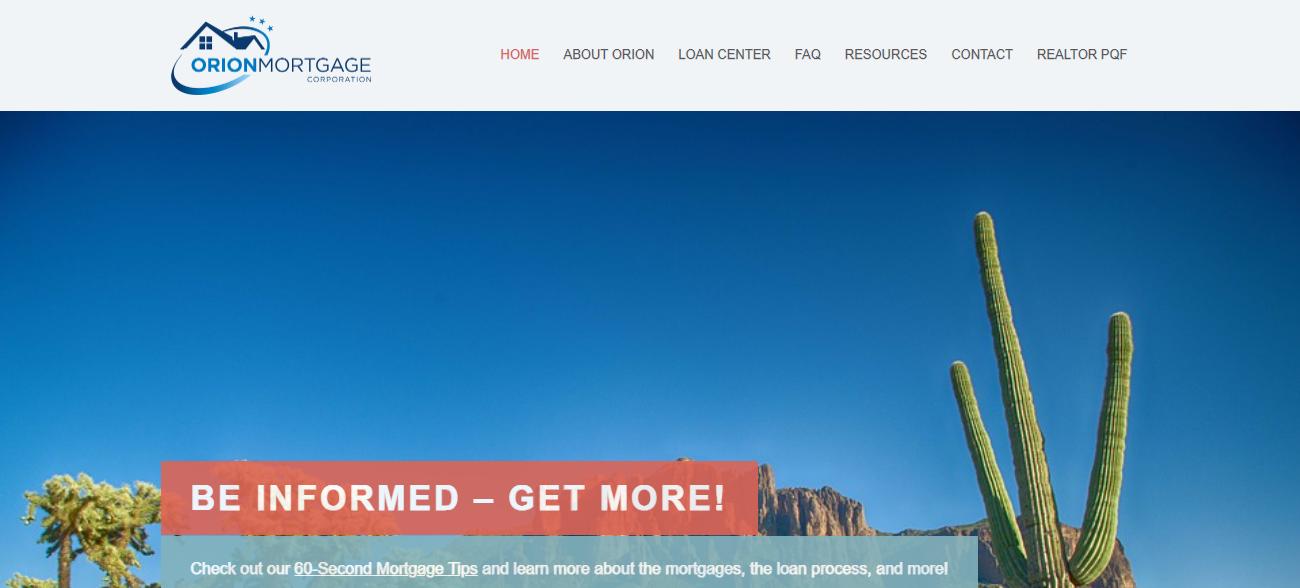 Orion Mortgage in Phoenix, AZ