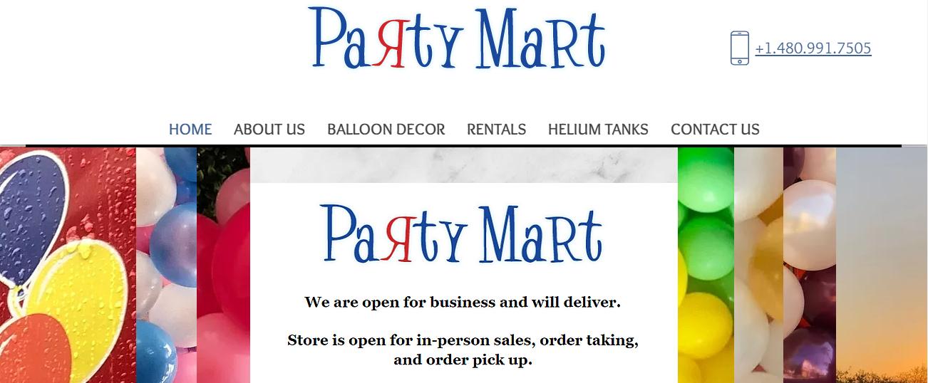Party Mart in Phoenix, AZ