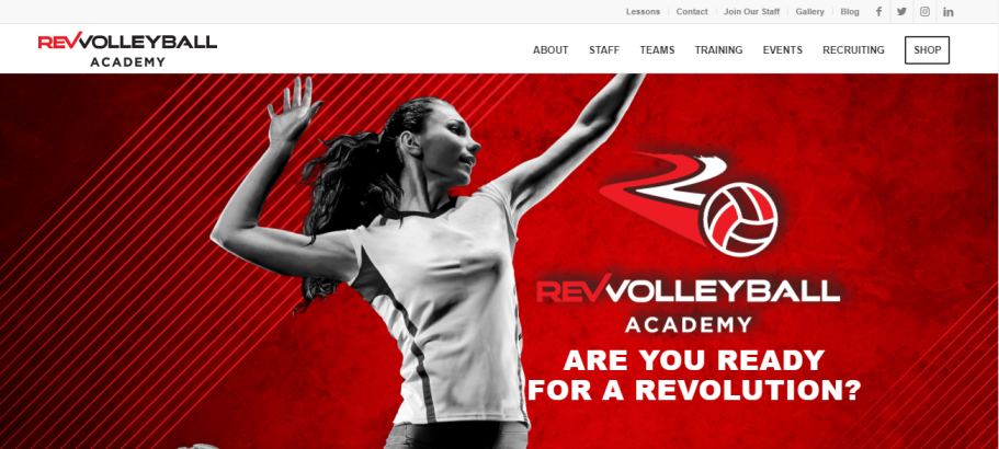 Rev Volleyball Academy in Indianapolis, IN