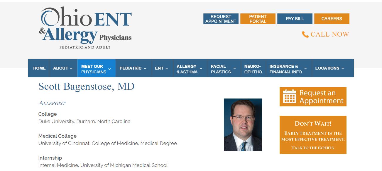 Scott Bagenstose, MD in Columbus, OH