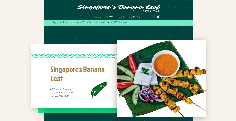 Singapore's Banana Leaf