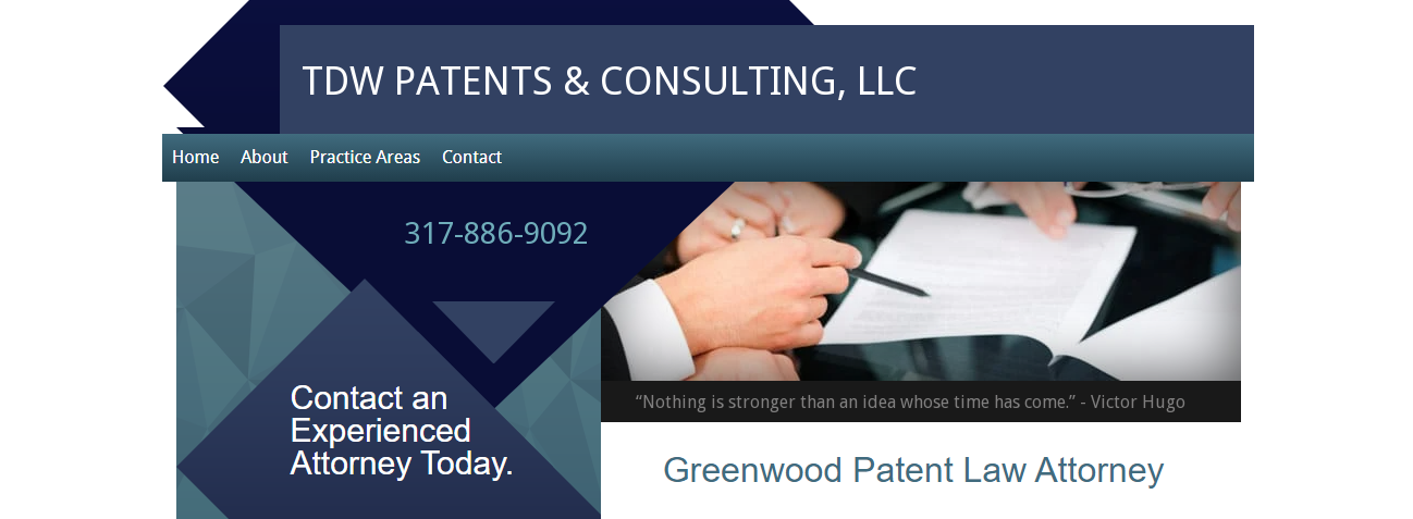 TDW Patents & Consulting, LLC in Indianapolis, Indiana