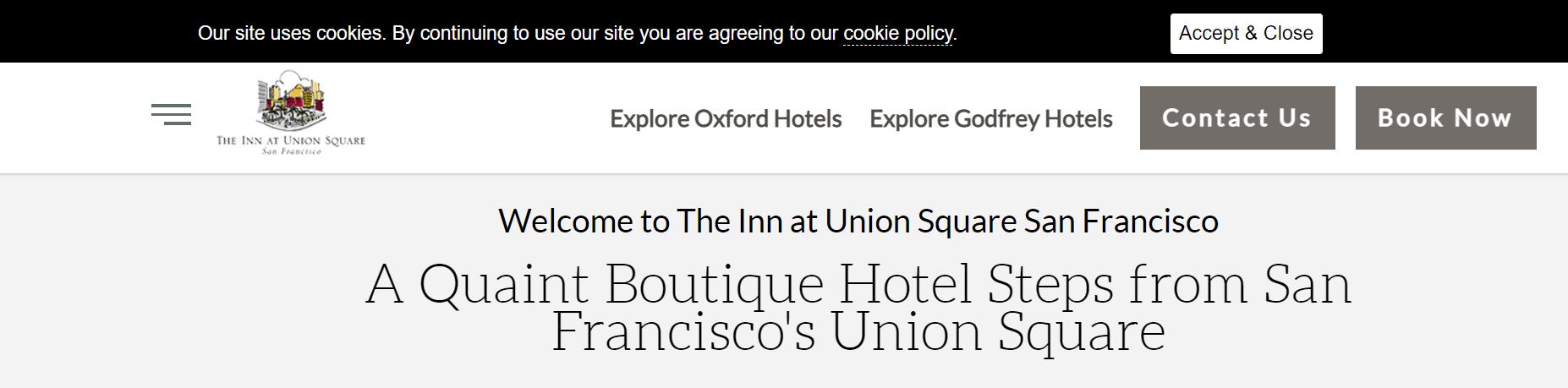 The Inn at Union Square San Francisco