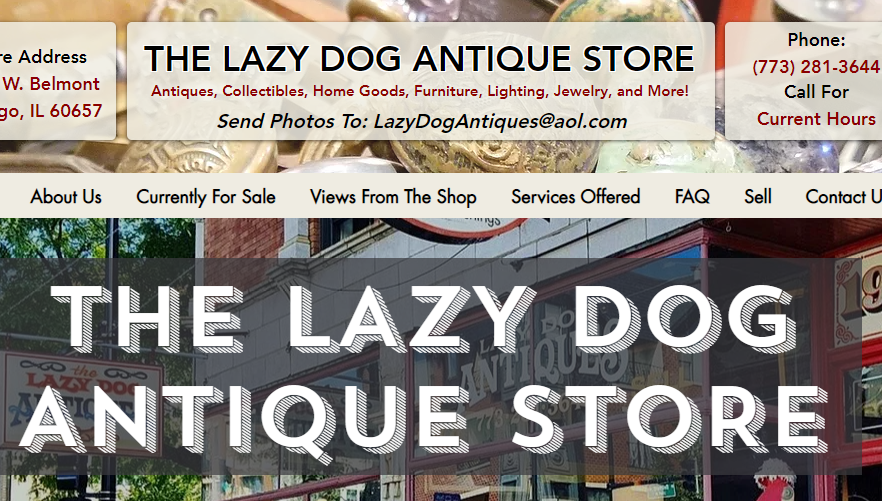 The Lazy Dog Antique