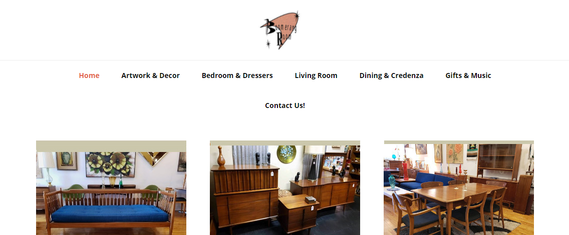 Boomerang Room Vintage