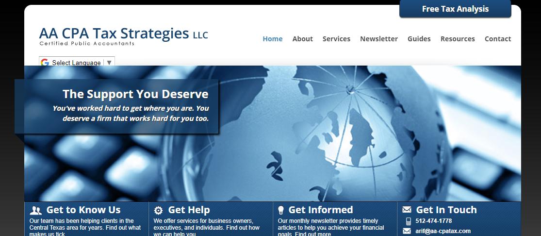AA CPA Tax Strategies LLC