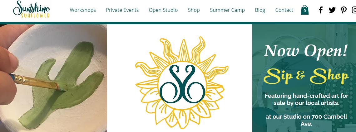 Sunshine Sunflower Studio