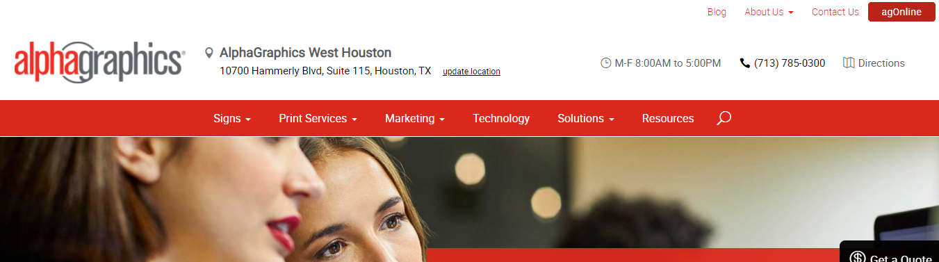 world-class print services in Houston, TX