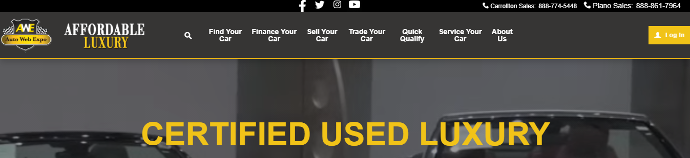 certified used luxury car dealers in Dallas, TX