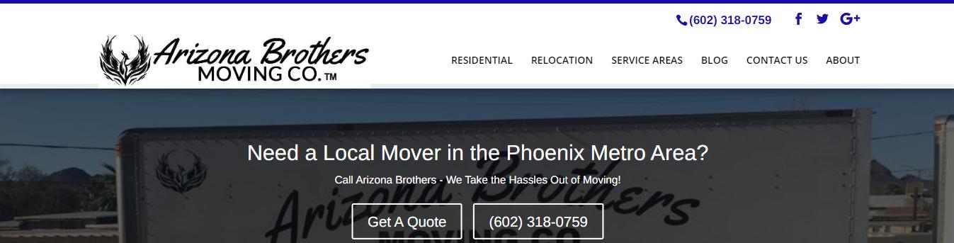 best local moving companies in Phoenix, AZ