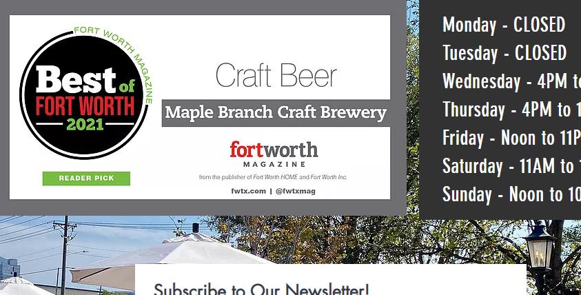 Maple Branch Brew